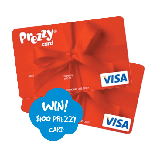 Win NZ Prezzy Card100